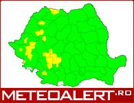 Avertizarile curente pentru Romania